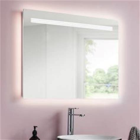 800mm Bathroom Mirror by Bathroom Mirrors With Lights Sanctuary Bathrooms