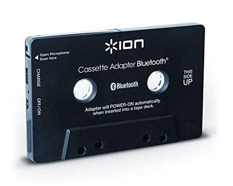 lettori cassette audio ion audio cassette adapter bt cassetta ricevitore