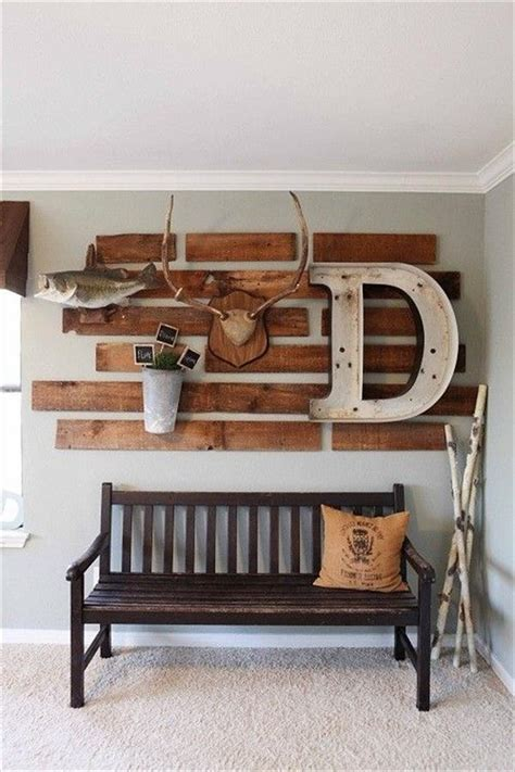 Diy Wall Decorations by Diy Wooden Pallet Wall Decor Ideas Pallets Designs