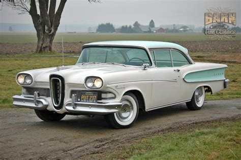 Best Home Interior Paint 1958 edsel pacer is listed sold on classicdigest in mount