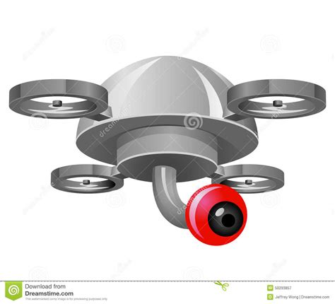 Drone S Eye drone with eye stock illustration image 50293857