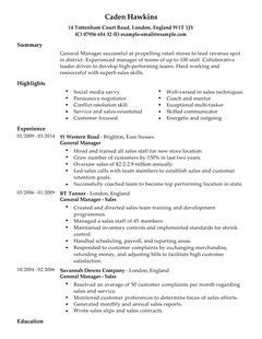 Sle Of Uk Resume Cv Exles Letters Maps