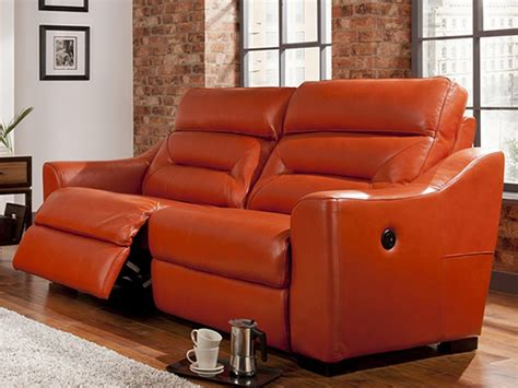 tara sofa tara 3 seat power recliner sofa in club leather furniture