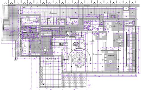 Full House Floor Plan project preparation for the rehabilitation of villa