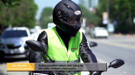 motosiklet ehliyeti direksiyon sinavi uygulama videosu