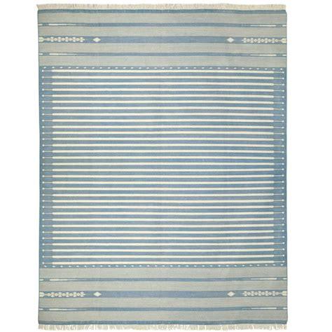 striped cotton dhurrie rugs sanskrit striped cotton dhurrie rug large oka