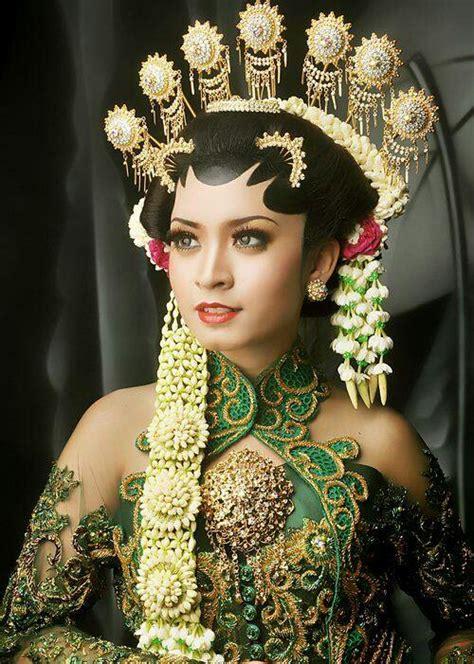 baju pengantin adat jawa pengantin jawa indonesia wedding dress pinterest