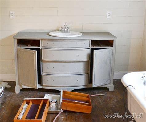 Sloan Bathroom Vanity - how i painted my vanity with sloan chalk paint