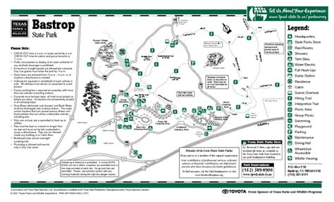 texas state parks map bastrop state park map world map 07