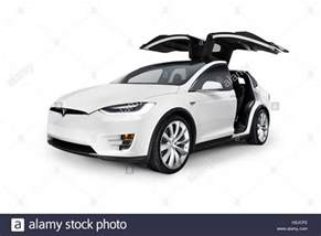 Electric Car Similar To Tesla White 2017 Tesla Model X Luxury Suv Electric Car With Open