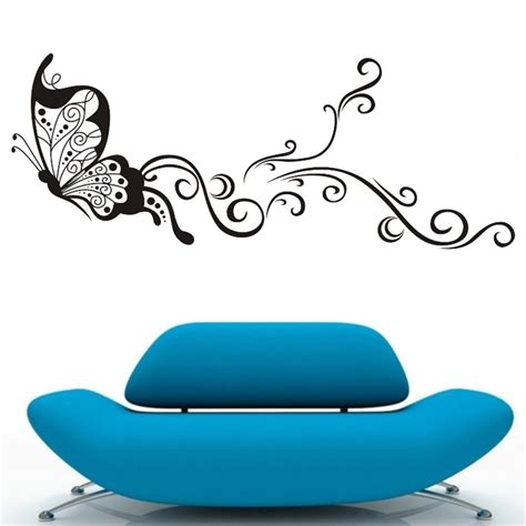 large butterfly wall stickers large butterfly wall stickers decal removable vinyl