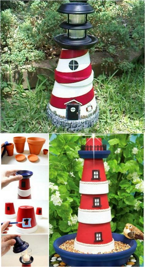 Garden Decoration Pots Ideas by 17 Creative Ideas To Decorate With Terra Cotta Flower Pots
