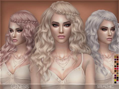 sims 3 downloads african the sims resource stealthic genesis female hair