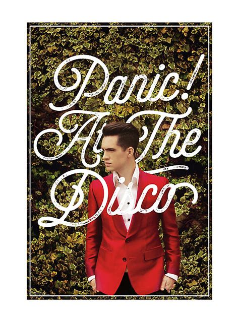 Panic At The Disco Panic At The Disco Brendon Hedges Poster Topic