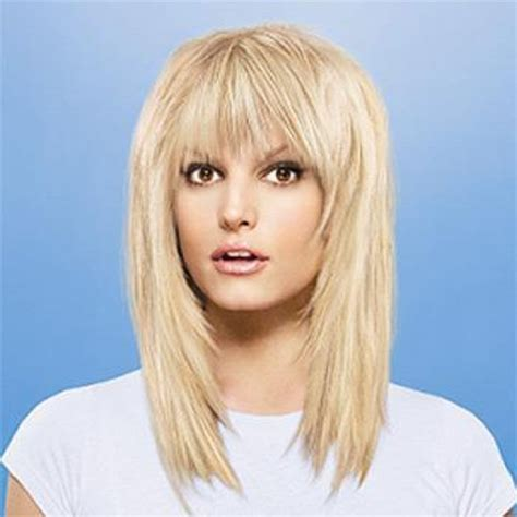 hairstyles medium hair with fringe long haircuts for women medium hairstyles with bangs are