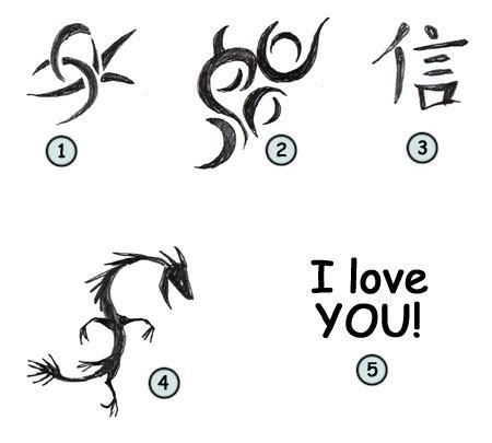 easy tattoo drawings tattoos millenium designstribal symbols design