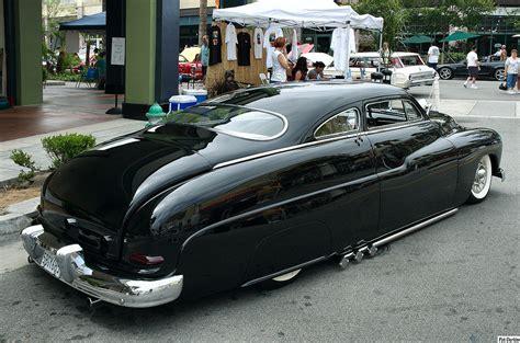 Flat Black Shoebox 1950 Ford 1949 Mercury Coupe Lead Sled Black Rvr 2 City Of