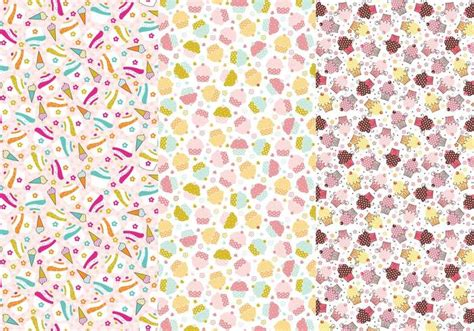 pattern para ai cupcakes and cones photoshop patterns free photoshop