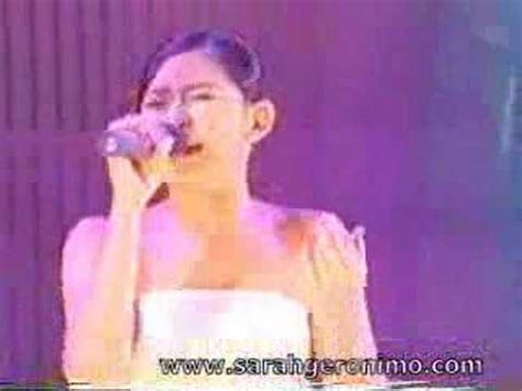 watch sarah geronimos i love you message for matteo to love you more sarah geronimo youtube