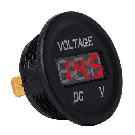Motorrad Batterie Voll Geladen by Dc12v Rgb Led Panel Digital Spannung Meter Anzeige