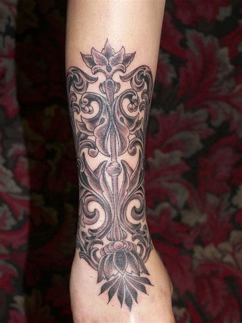 filigree wrist tattoo filigree sleeve tattoos d vme katalo u 3d