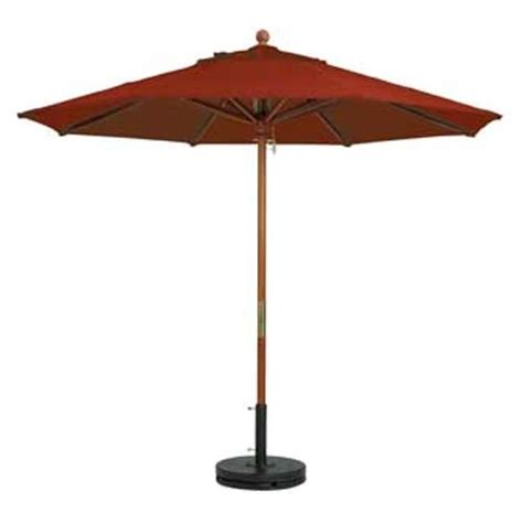 Umbrellas For Patio Furniture Grosfillex 98948231 7 Ft Terra Cotta Market Umbrella Etundra