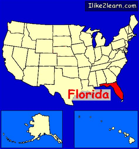 us map states florida florida