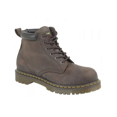 Kickers Dr St dr martens forge st mens leather safety boots brown buy