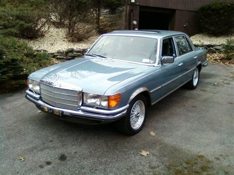 Anthony S Upholstery 1979 Euro Spec Mercedes Benz 450sel 6 9 Luxobarge Or