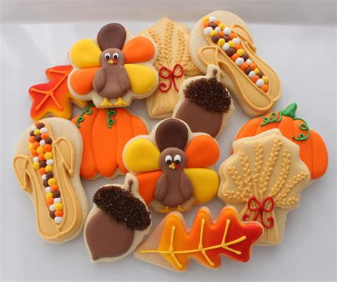 decoration home fall decorating ideas fall cookie saturday spotlight top 10 autumn cookies cookie connection
