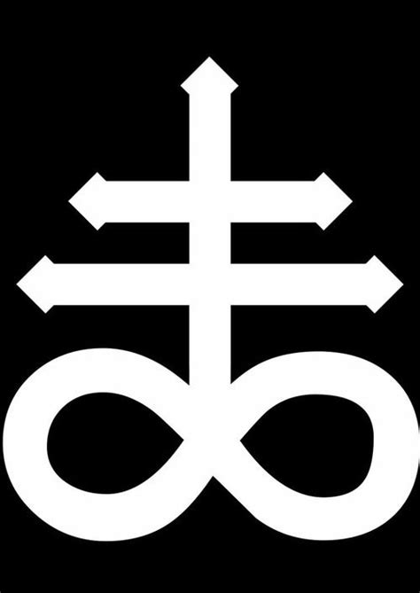 the satanic cross also known as the leviathan cross is a