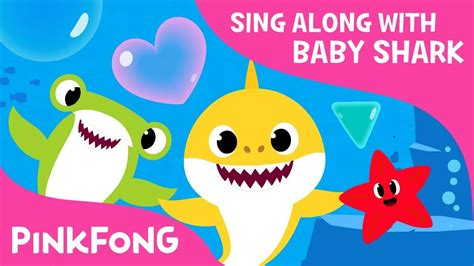 baby shark youtube pinkfong shapes in the sea learn shapes sing along with baby