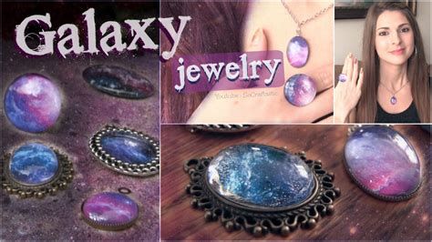 how to make jewelry shine diy galaxy necklace ring pendants nail jewelry