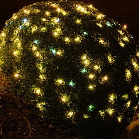 weihnachtsdeko garten led led lichternetz lichterkette 208 leds weihnachten garten