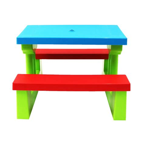 childrens bench table kids childrens picnic bench table outdoor furniture with
