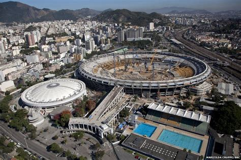 rio olympic venues now bbc news in pictures rio de janeiro builds for the