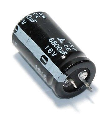 panasonic capacitor ce qty 10 new panasonic ce series ece s1cu682e radial snap in electrolytic capacitor