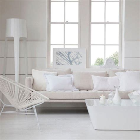 all white living rooms 15 serene all white living room design ideas rilane
