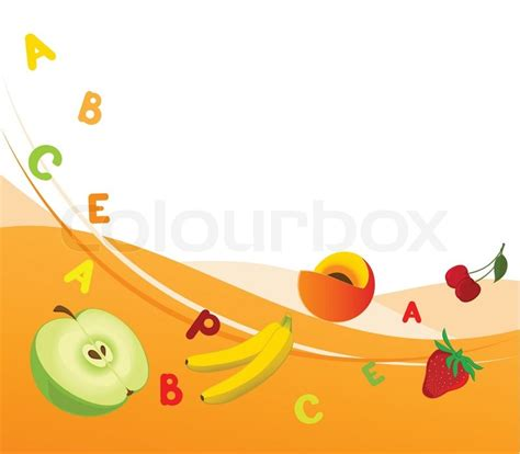 2 fruits combined combined illustration of fruit background with the