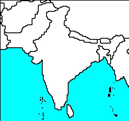 blank map of south asia blank south asia maps asia maps map pictures