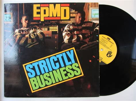 Epmd Strictly Business Vinyl - epmd strictly business records lps vinyl and cds