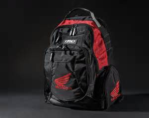 Honda Backpack Factory Effex Officially Licensed Honda Casual Wear