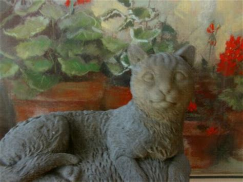 libro the cement garden vintage cat cement garden statue antique hues animal statues ebay