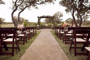 Wedding Venues Tx Rustic Wedding At West Vista Ranch Rustic