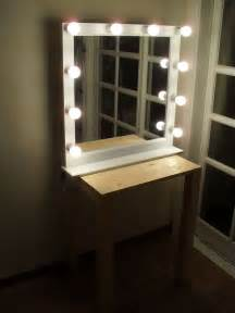 Vanity Mirror With Lights India Lighted Makeup Mirror Wall Mount Australia Makeup Vidalondon