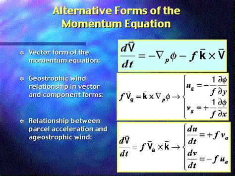 Credit Impulse Formula What Are The Fundamental Equations Used In Weather Forecasting Big Data