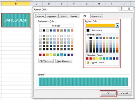 pattern color in excel microsoft excel এ স ল ফরম য ট পর ব ৬ ব য কগ র উন ড ক ল র