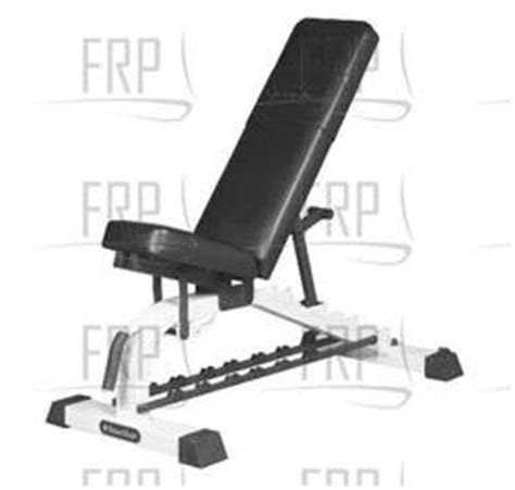 fitness adjustable bench parts nautilus residential nt1012 fitness and exercise