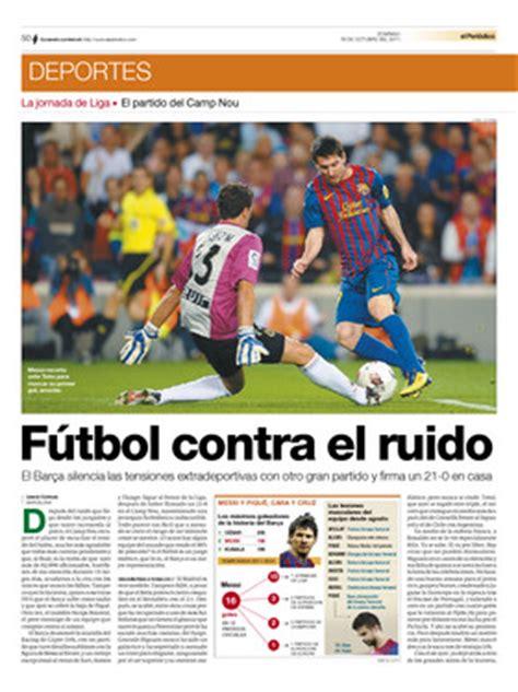 futbol contra el enemigo futbol contra el ruido noticias del f c barcelona