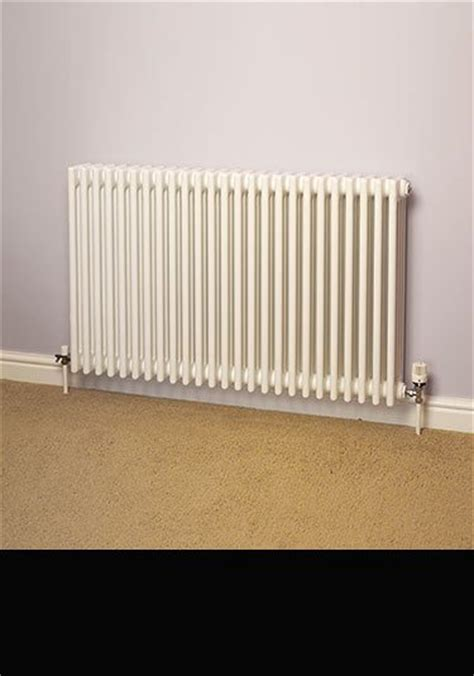 traditional heating radiators white coloured radiators